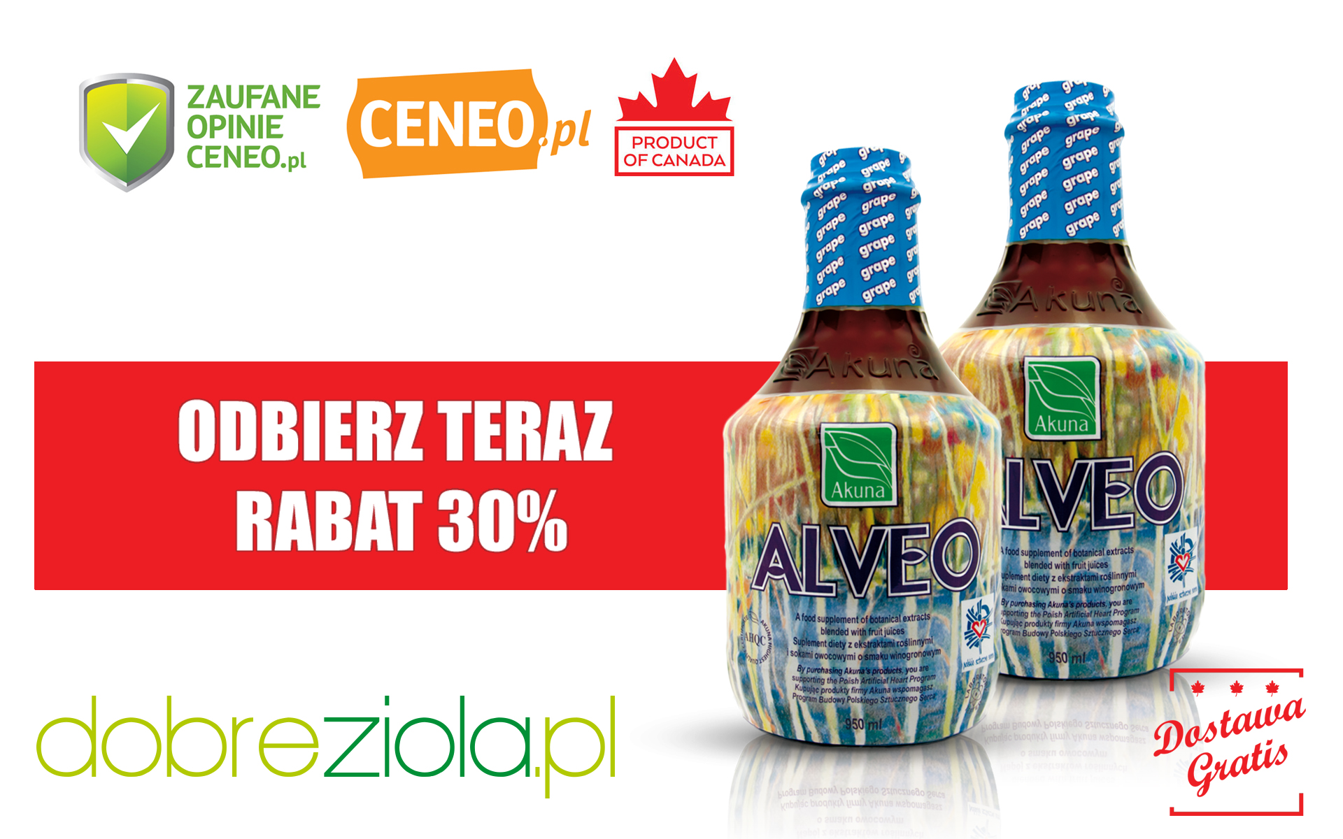 Alveo Grape - www.dobreziola.pl